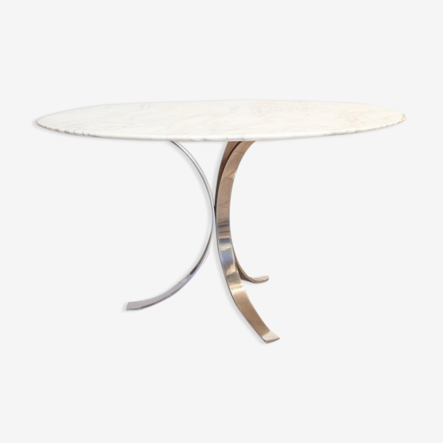 Table ronde en marbre Borsani