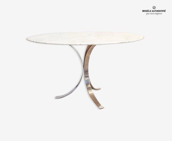 Table Ronde En Marbre Borsani Marbre Blanc Design C2pe3cy