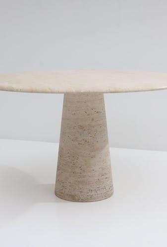 Table à manger ronde 1970