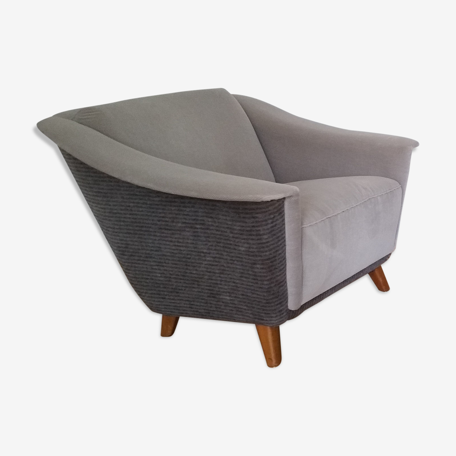Fauteuil années 40 50 design scandinave