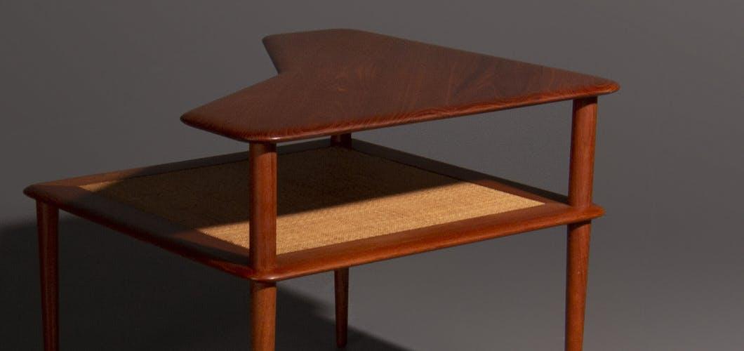 Table basse par Peter Hvidt produite par France et Son