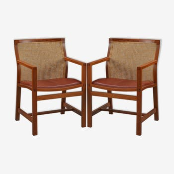 Chairs King series by Rud Thygesen & Johnny Sørensen for Fredericia s 1980