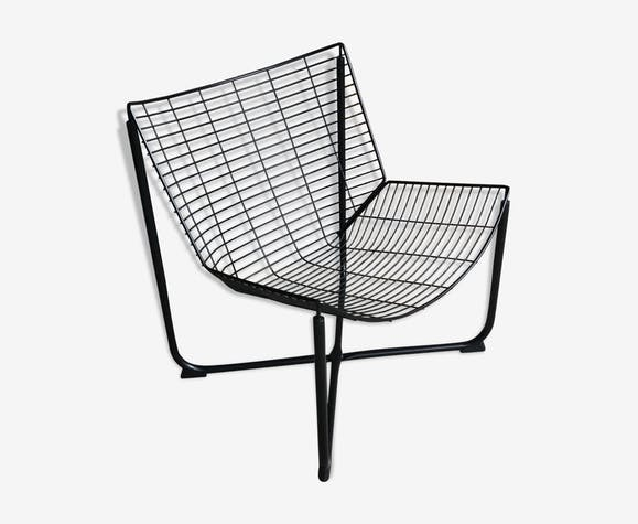 Fauteuil grillagé Jarpen de Niels Gammelgaard pour Ikea