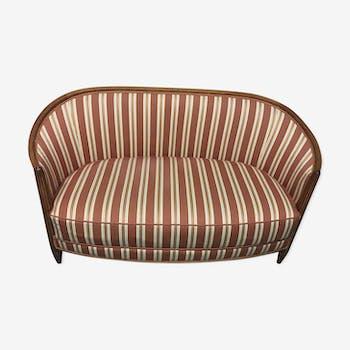 banquette d 39 angle tissu vert art d co 67742. Black Bedroom Furniture Sets. Home Design Ideas