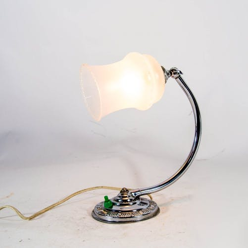 Art deco office lamp