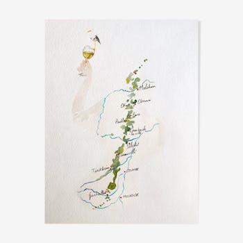 Alsace - carte des vins