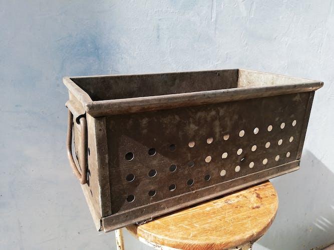 Industrial metal box