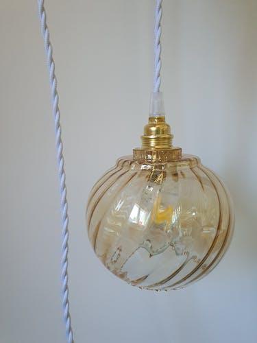 Vintage hanging lamp