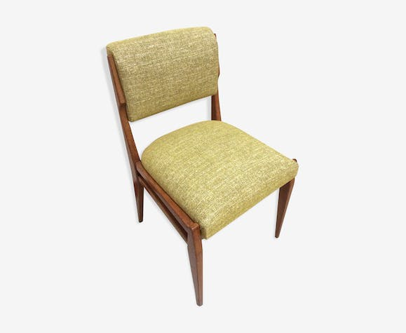 Chaise Scandinave Moutarde Annees 70