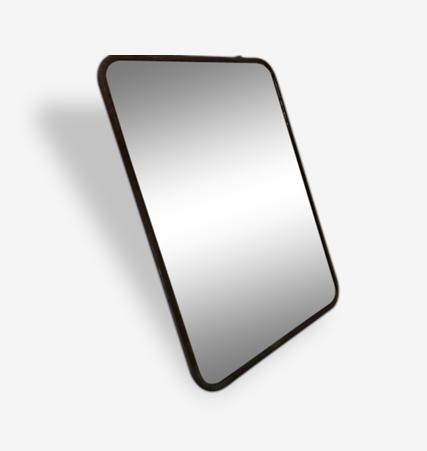 Grand miroir de barbier