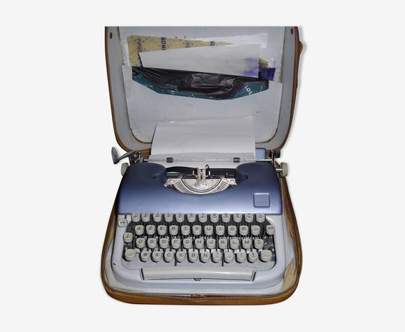 Machine à écrire Japy vintage 1960