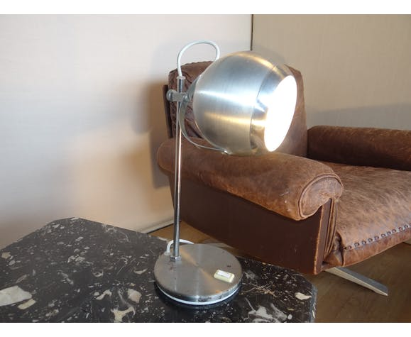 Lampe eye ball, 1970 en aluminium