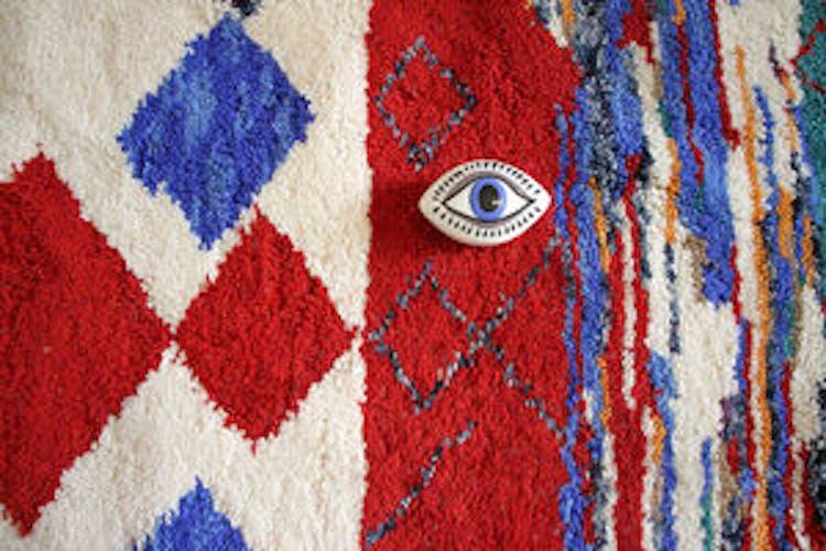 Tapis berbère azilal multicolore 160x240cm