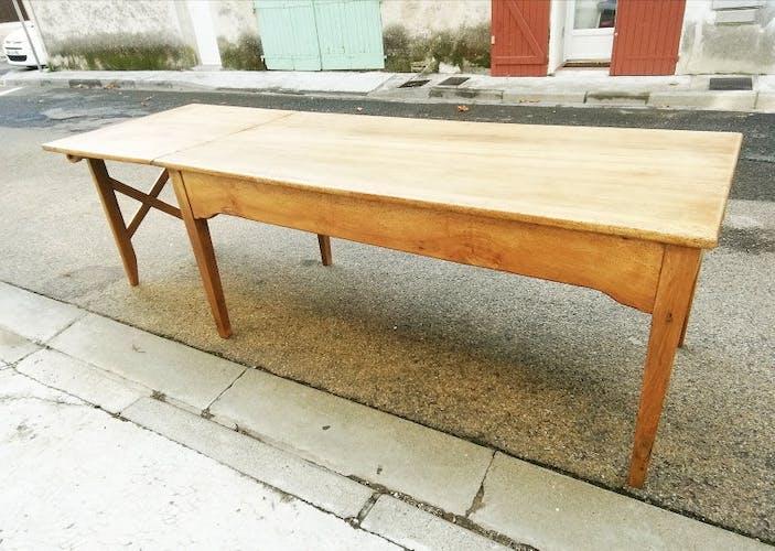 19th century farm table
