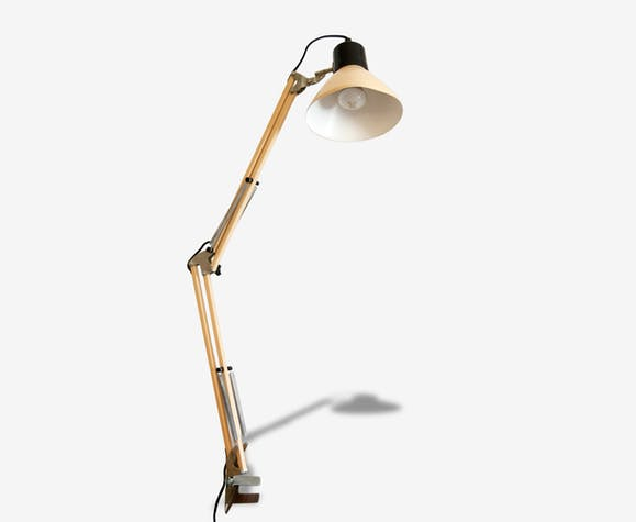 Lampe de bureau articulée vintage Ancienne lampe d
