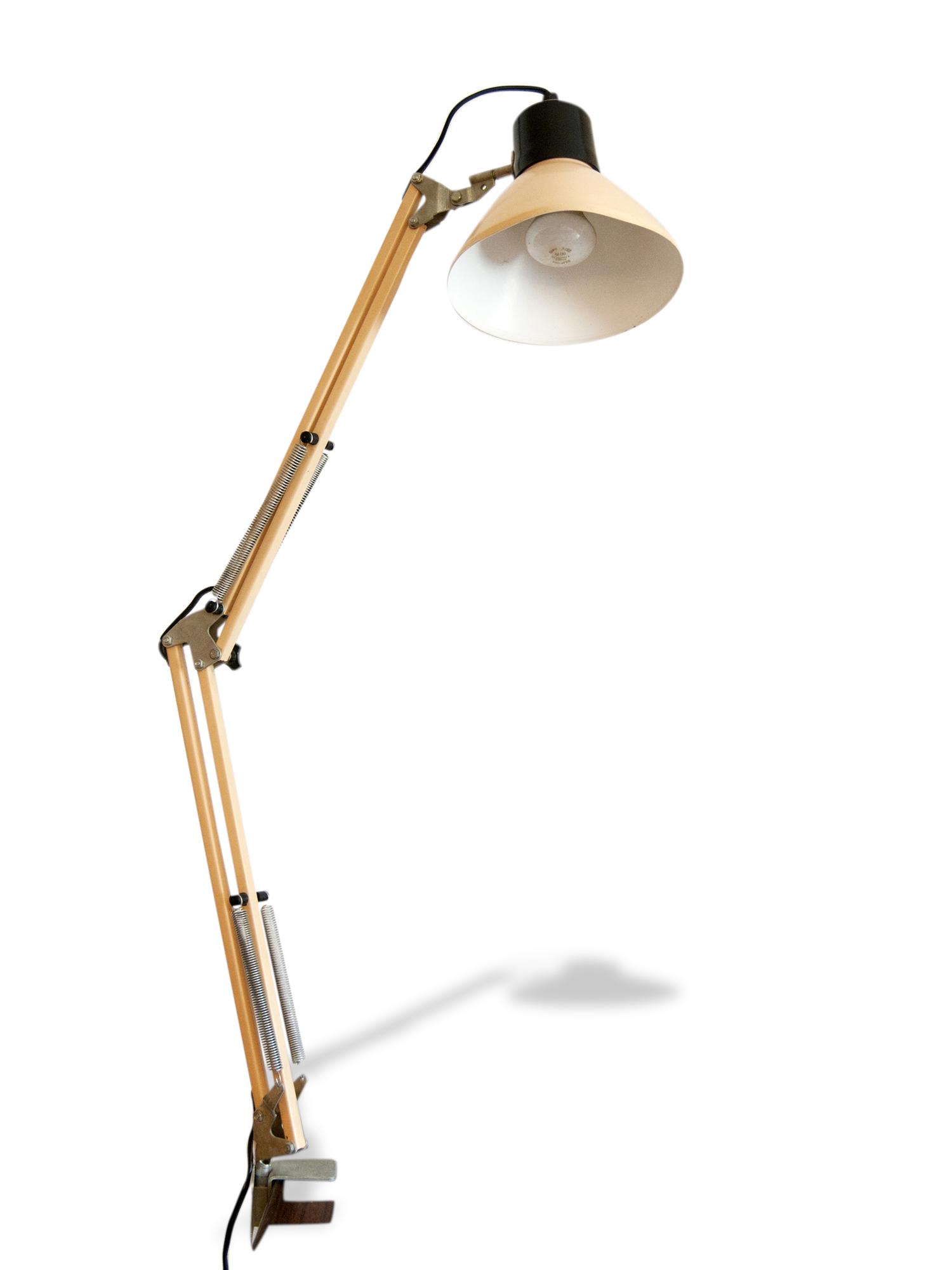 Lampe De Bureau Articulee Vintage Ancienne Lampe D Architecte