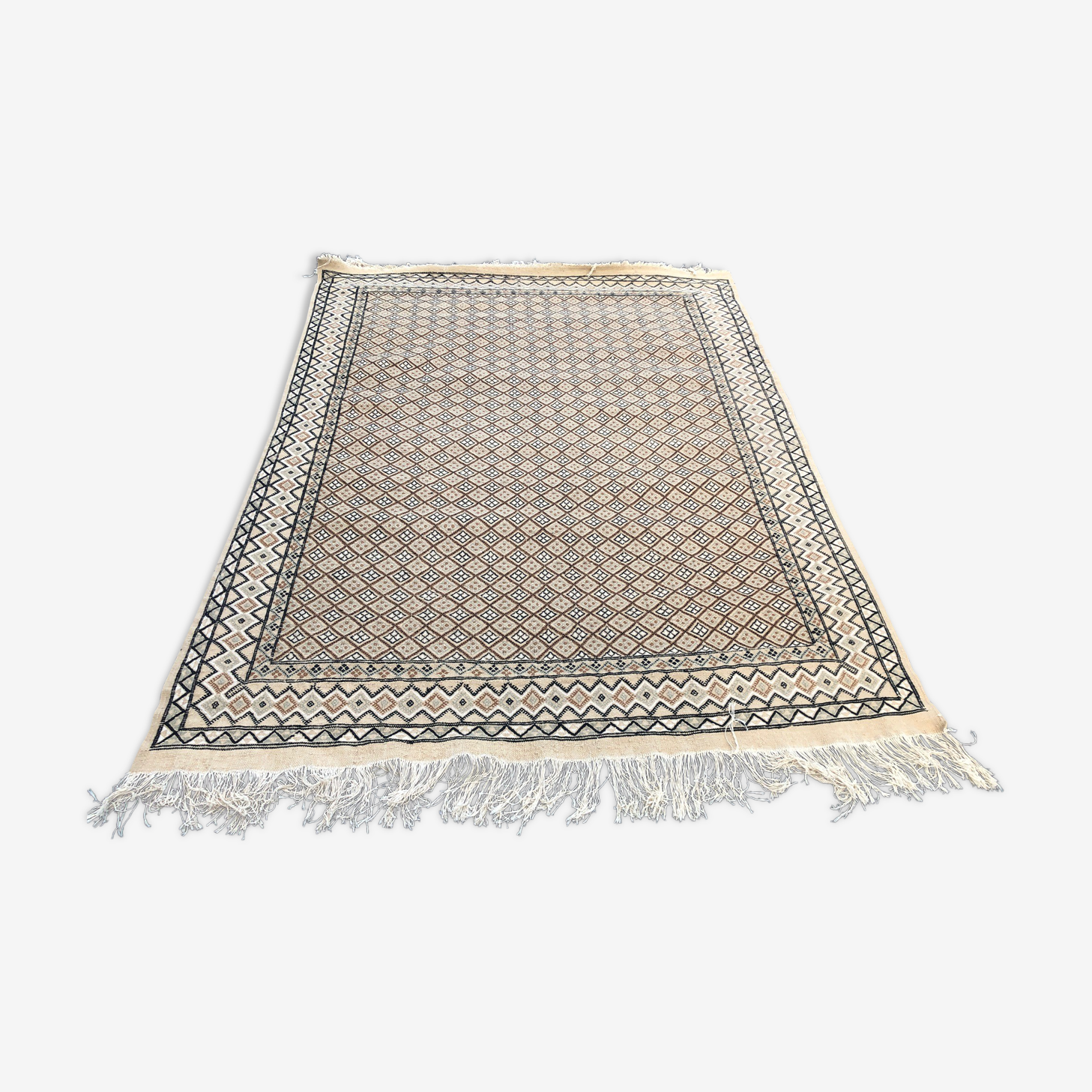 Handmade wool rug of the 1970s 240x170cm