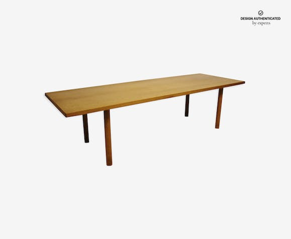 Coffee table oak by Hans J. Wegner and Andreas Tuck 1960