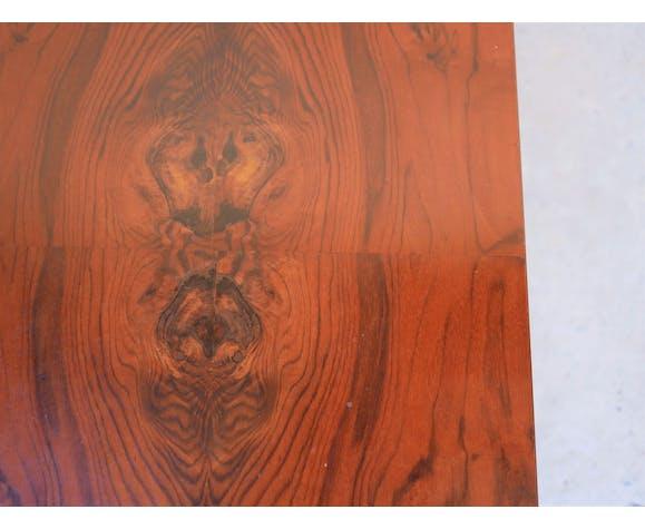 Table basse vintage en palissandre