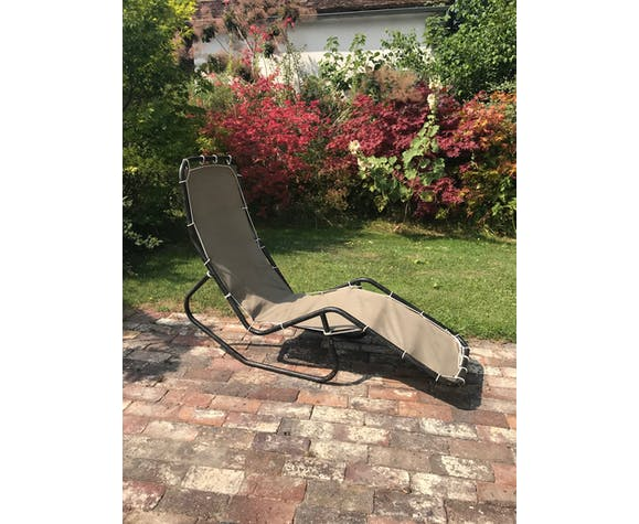 Chaise longue barwa moderniste design 1950