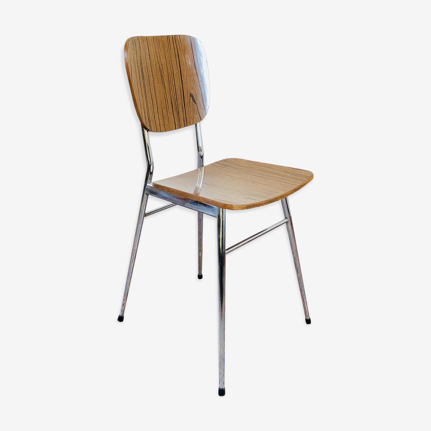 Chaise en formica 1960