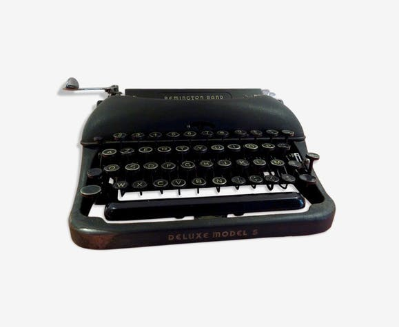 Machine à écrire portable Remington Rand