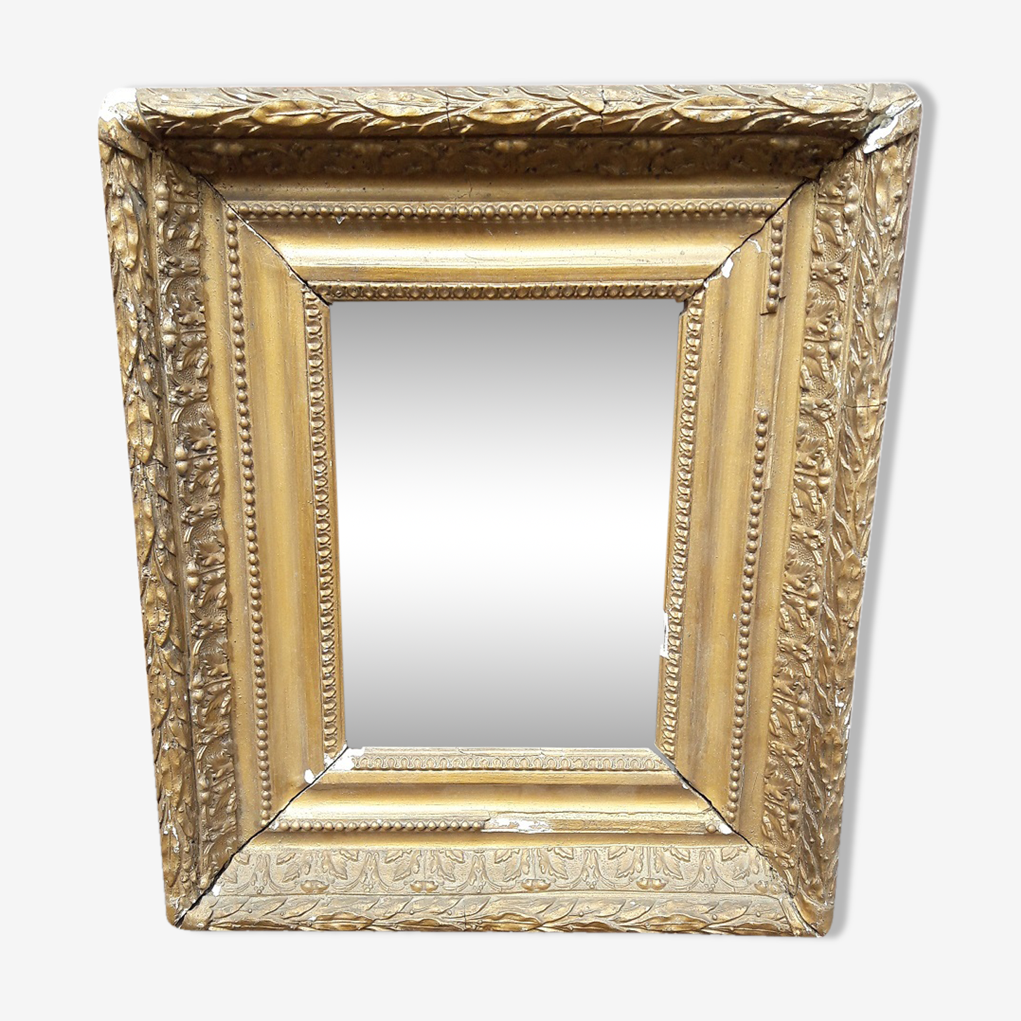 Miroir barbizon ep Napoleon III 36/31cm