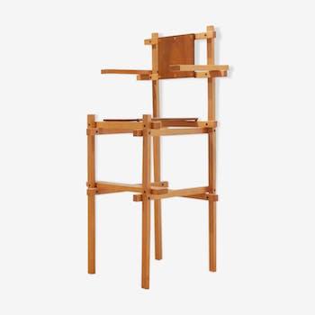 Rietveld wooden high chair 1960s