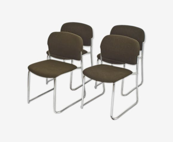 Set of 4 chairs Gerd Lang to Drabert