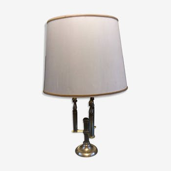 Lampe en laiton massif