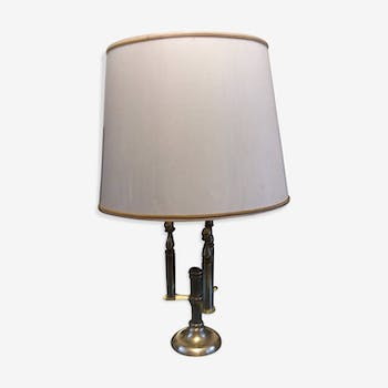 Solid brass lamp