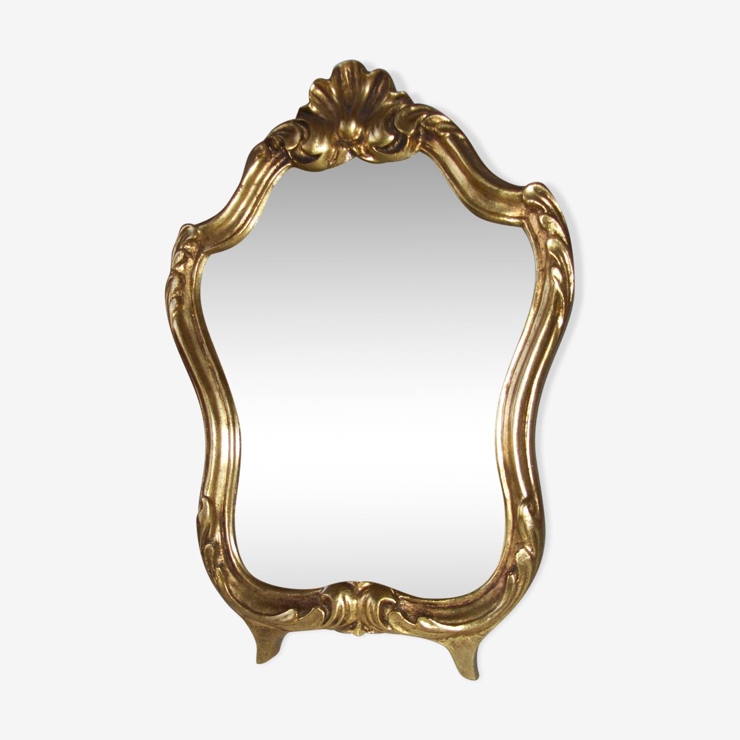 Mirror 50 - 60s style Louis XV 20x30cm