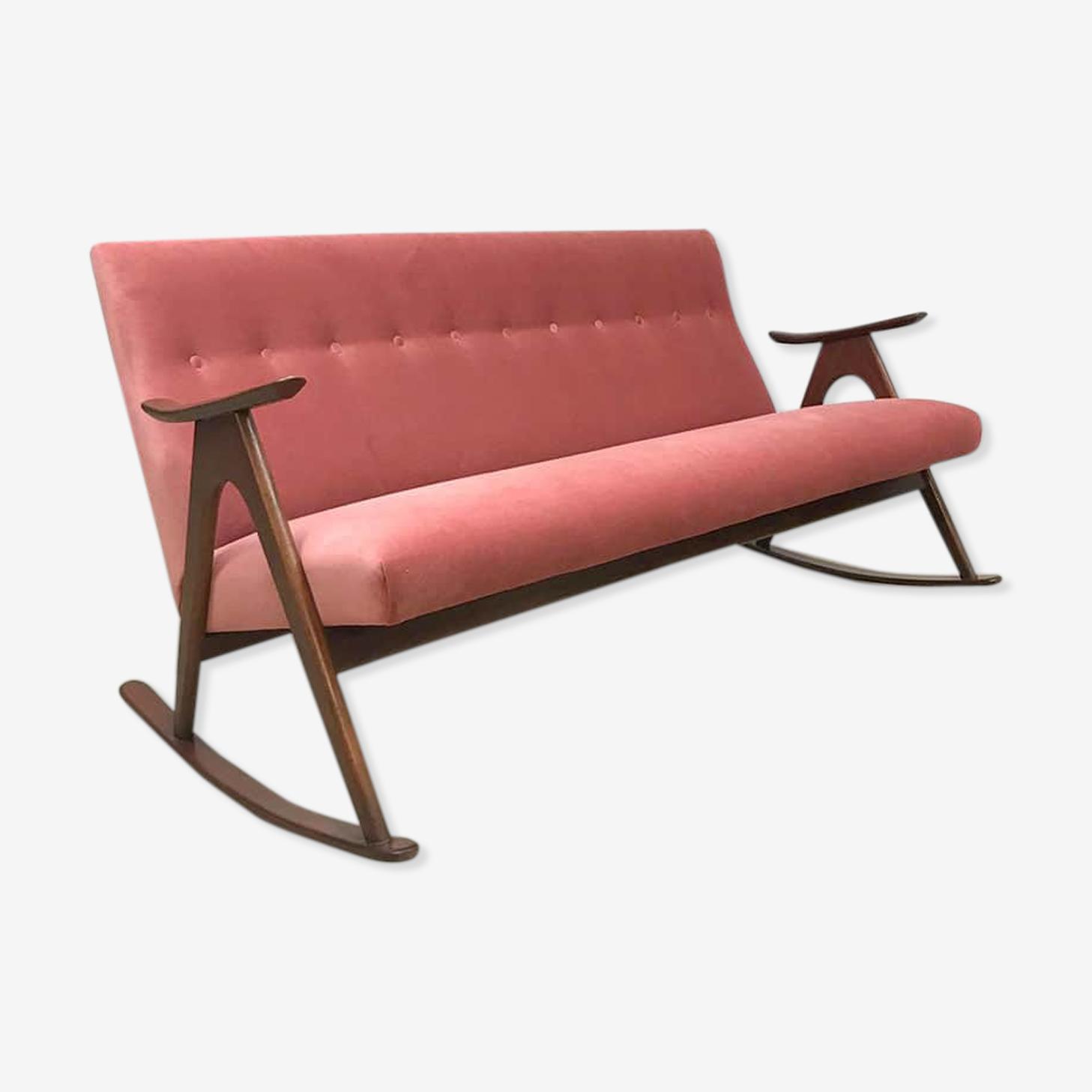 Scandinavian rocking sofa