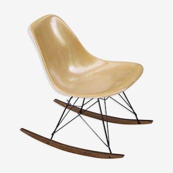 Rocking chair rar Eames vintage Herman Miller Original 1970