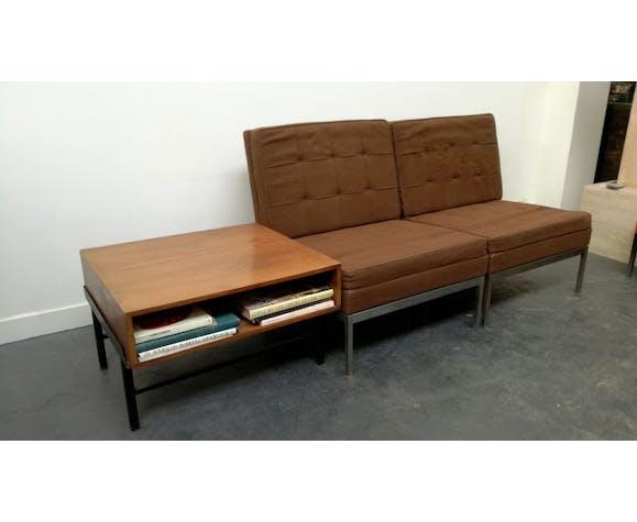 Paire de fauteuils par Florence Knoll 1960
