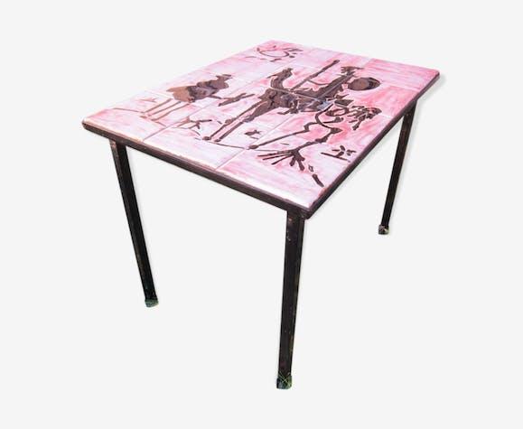 Céramique Basse Picasso Table CéramiquePorcelaine Don Quichotte odrxeWCB
