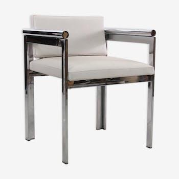 Vintage chrome bridge Chair