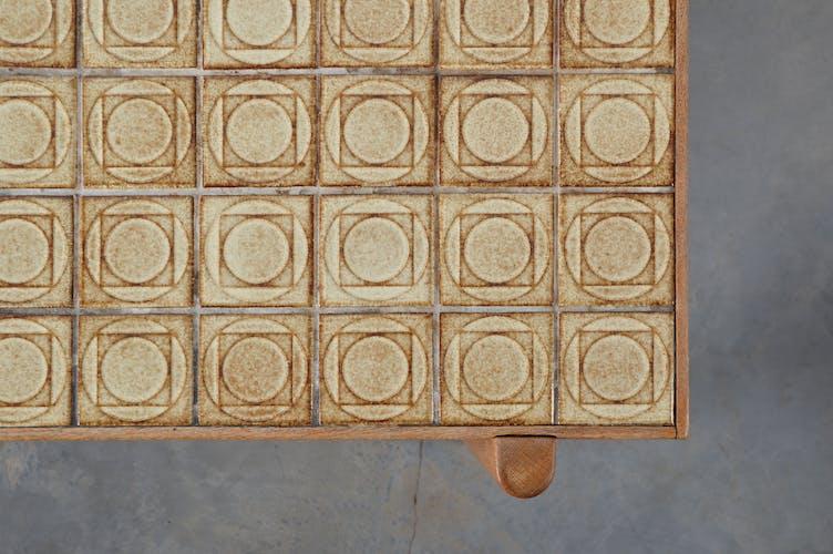 Kurt Østervig table basse danoise du milieu du siècle 1960s