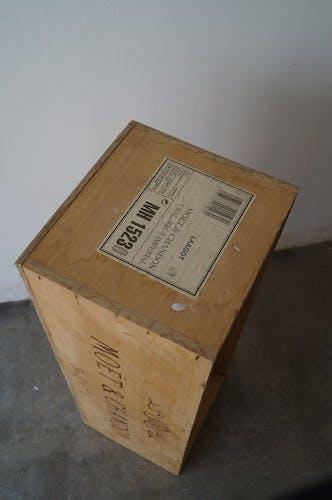 Advertising storage box