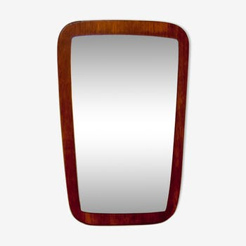 Flared Scandinavian mirror 38x59cm