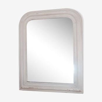 White Louis-Philippe Mirror  47x60cm
