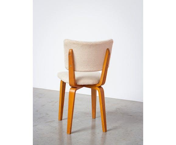 4 chaises de Cor Alons bois 1950