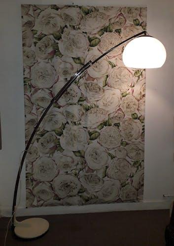 "Lampadaire "" arco "" par Reggiani"
