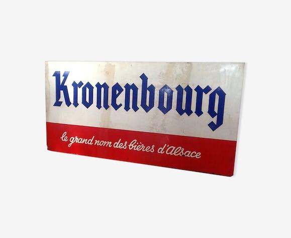 Plaque Kronembourg