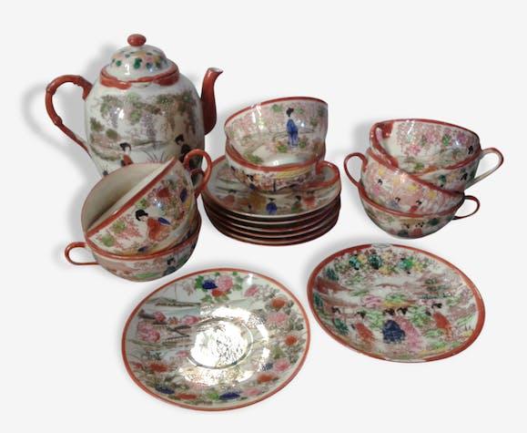 info pour 23c2a 12acd Service à thé porcelaine fine Japon - céramique, porcelaine ...