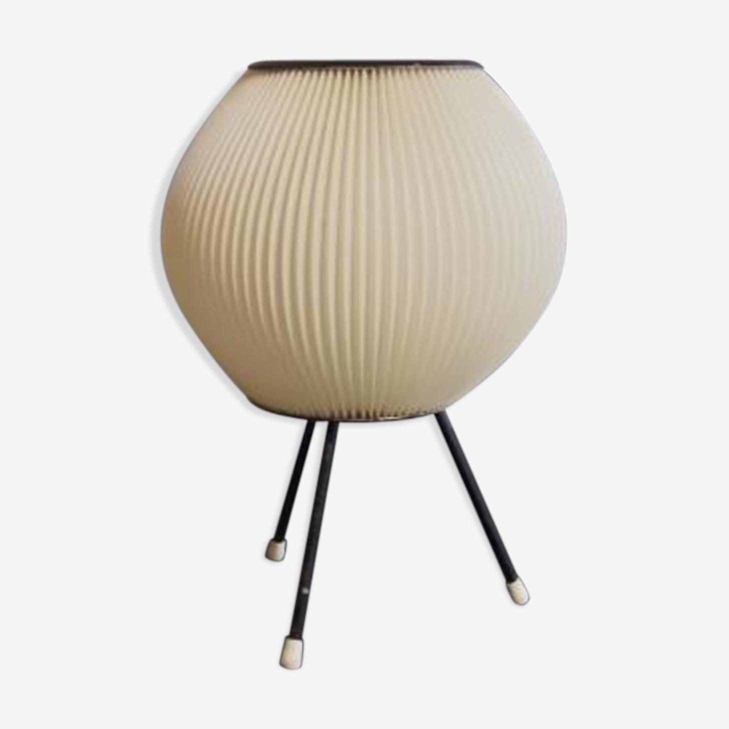 Lampe vintage black-laquered