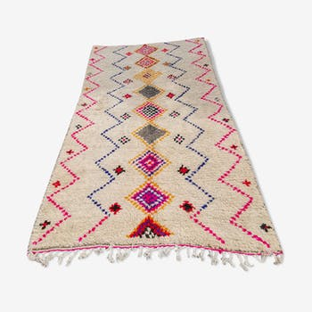 Berbere handmade carpet in wool and cotton - 275x170 cm