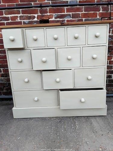 Convenient multiple drawers