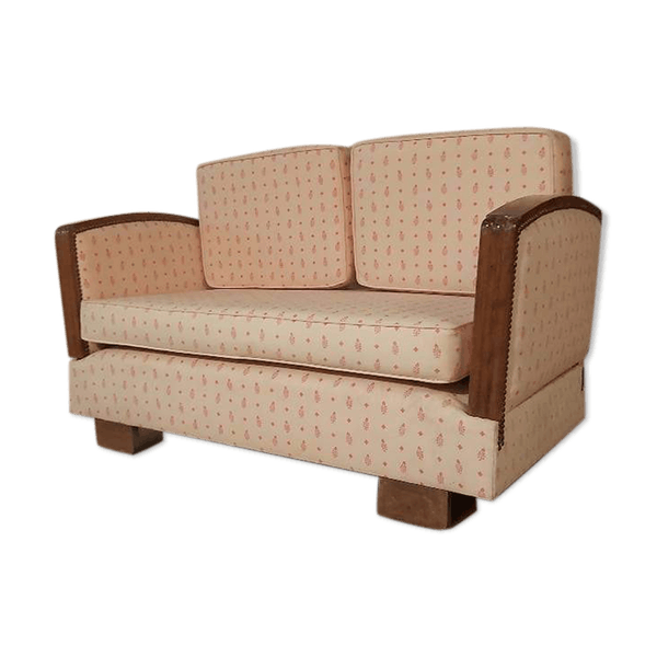 Old Art Deco Style Bench Selency