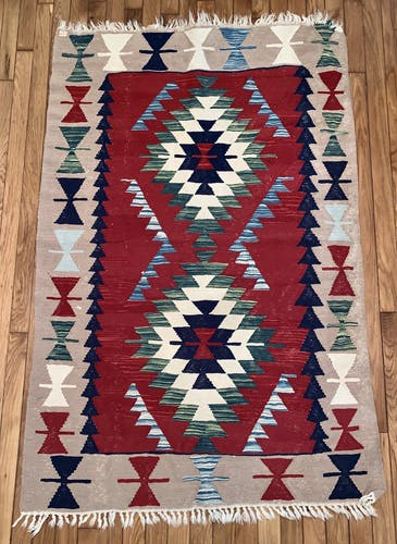 Tapis kilim berbère laine